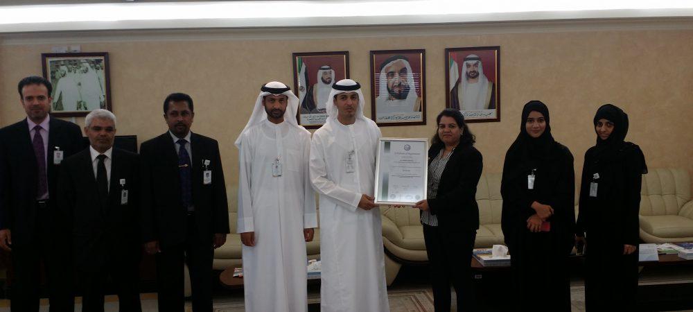 Al Gharbia Certificate Handover
